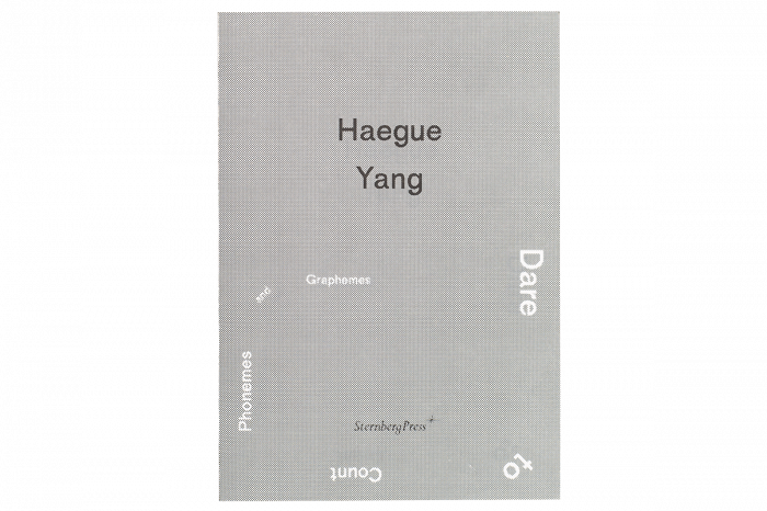 Haegue Yang: Dare to Count Phonemes and Graphemes